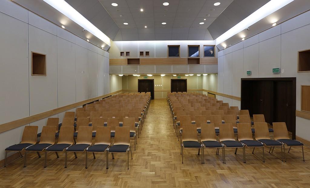 Sala konferencyjna w Spichlerzach na Ołowiance