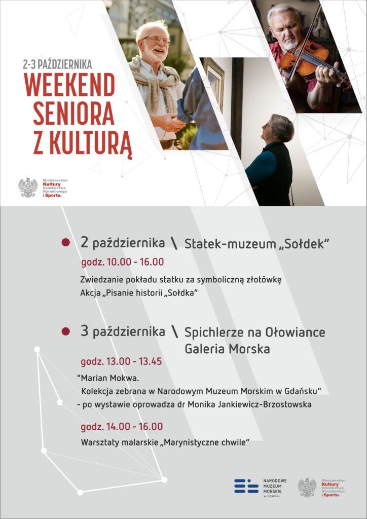 Weekend seniora z kulturą 2021 w Narodowym Muzeum Morskim w Gdańsku